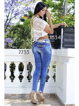 jeans colombianos en Madrid