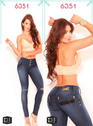 jeans colombianos levanta cola
